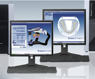 CADデザインソフトウェア ceramill mind